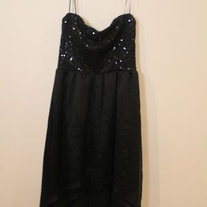 Black sparkley Deb dress